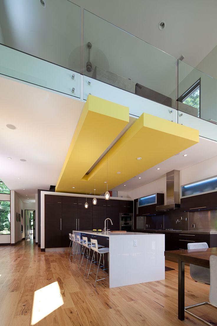 Modern Ceiling Soffit - Loft Living - Designed by Lucid Architecture