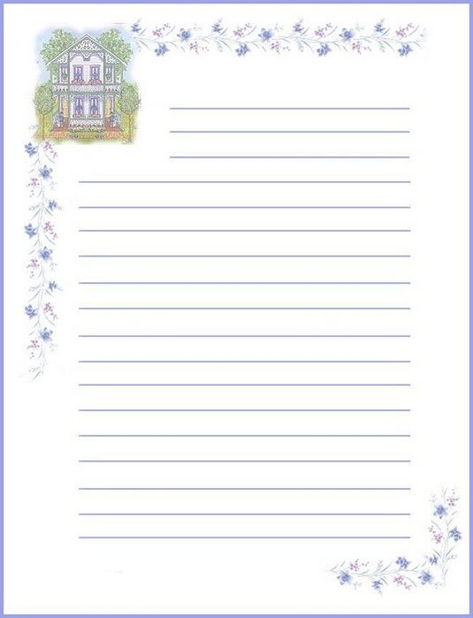16 best Stationary images on Pinterest Writing paper, Leaves and - free printable lined writing paper