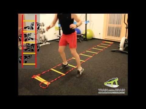 Koordinationsleiter - Speed Ladder Drill - YouTube