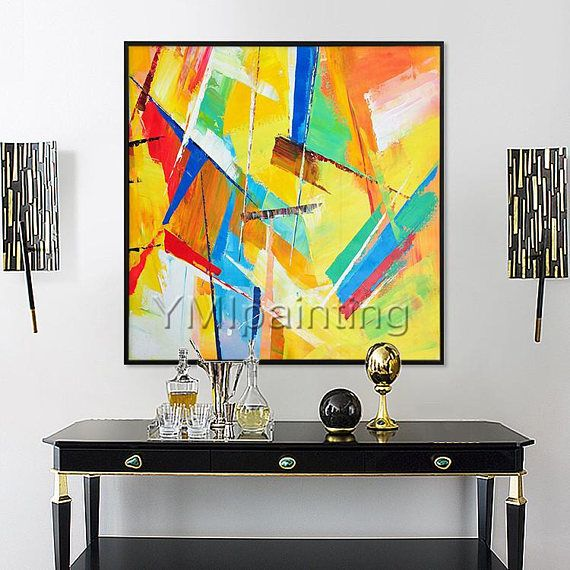 75+ best Original Abstract Painting on Canvas Contemporary Modern ...