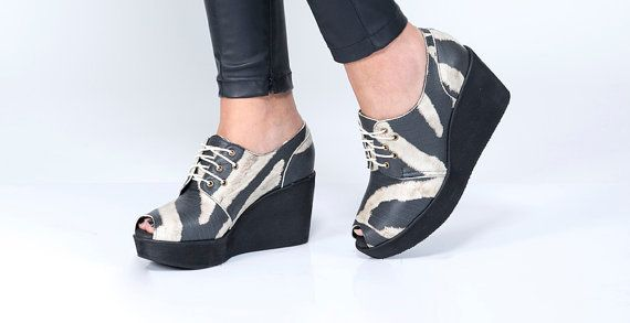 Hey, I found this really awesome Etsy listing at https://www.etsy.com/listing/156515240/zebra-shoes-8cm-heel-shoe-with-a-peep