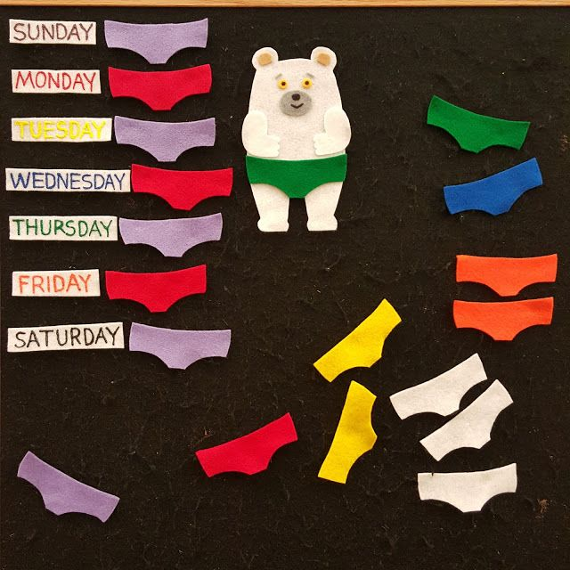 Literary Hoots: Flannel Friday: Polar Bear's Underwear