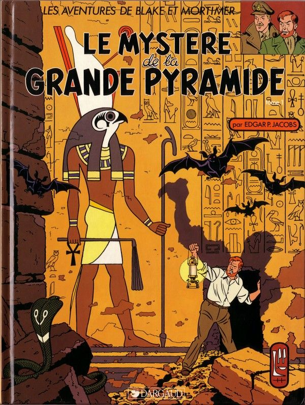 Blake et Mortimer (Éditions Blake et Mortimer) -4- Le mystère de la grande pyramide T1  -  1954