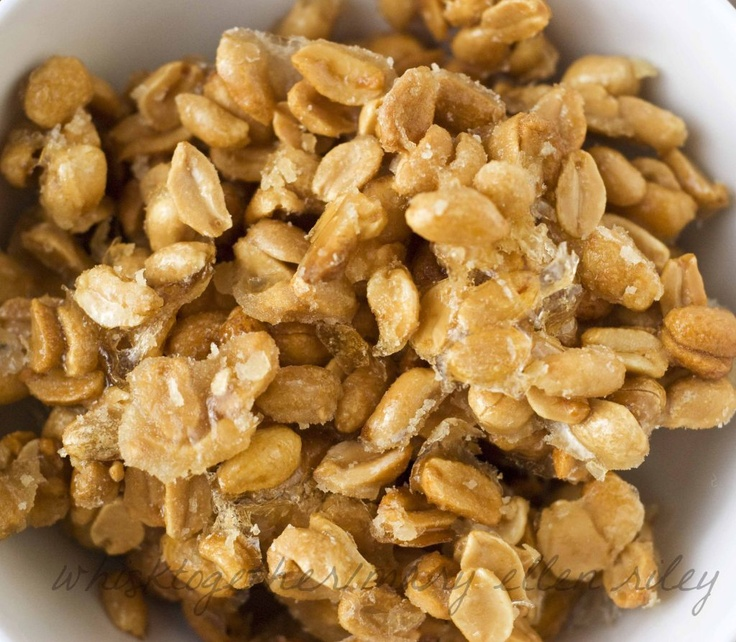 Honey Roasted Candied Peanuts | Sweet Tooth - Candies | Pinterest