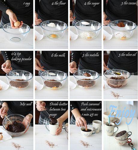 Brownie en 5 minutos by SandeeA Cocina
