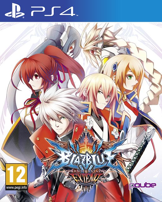 BlazBlue: Chrono Phantasma Extend is the ultimate version of BlazBlue and marks the first appearance of the series on the new generation of consoles.  Publisher: pQube Developer: Arc Systems Work Genre: Fighting Platforms: PS3, PS4, PSVT, Xbox1 Release Date: 23/10/2015 #videogames #fighting #PS4 #pQube #Arc_Systems_Work