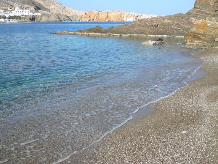 Latinaki beach, 180m from Vrahos Boutique Hotel.