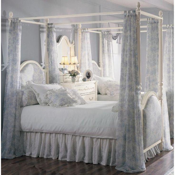 15 amazing canopy bed curtains design ideas - Gotische Himmelbettvorhnge