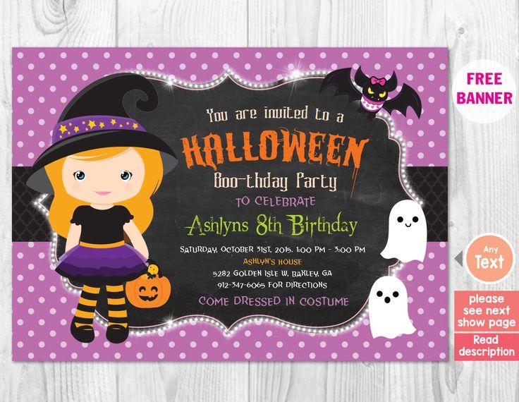 17 best ideas about Halloween Invitations Kids – Kids Halloween Party Invite