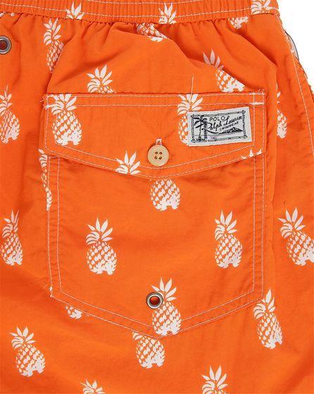 Maillot de Bain Ananas Orange POLO Ralph Lauren