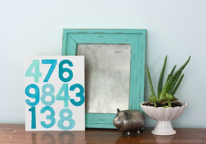 Really nice ideas for visiting guests: Printable Wifi Password art DIY to display in the guest room or office.