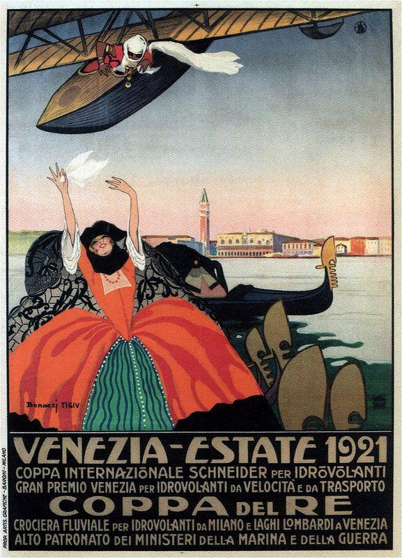 Bonazzi, Schneider Cup-Royal Cup, Venezia 1921   #TuscanyAgriturismoGiratola