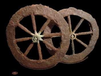 The oldest wheel known, was invented in Sumer ...