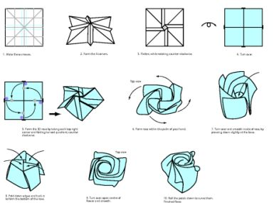 85 best origami images on pinterest bricolage diy flowers and easy origami rose has been tagged in easy origami instructions easy origami for kids easy origami flower mightylinksfo