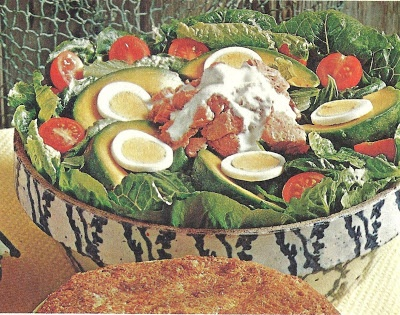 Spring Salmon Salad (The Southwestern Cookbook, Southern Living, 1972)