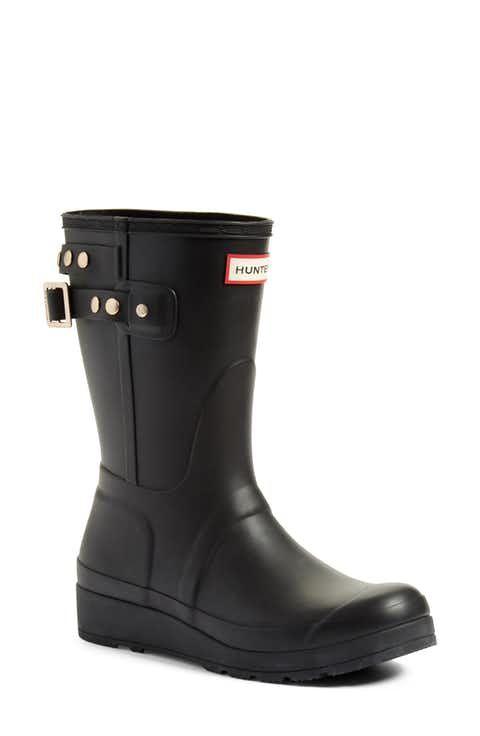 Hunter Original Mid Calf Rain Boot (Women)