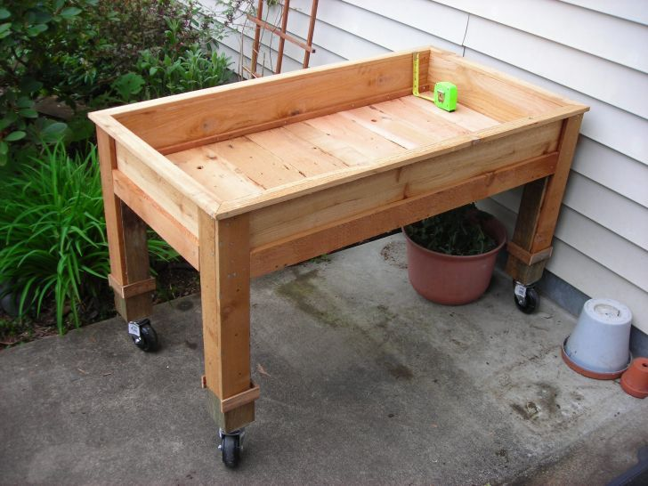 Perfect Portable Garden Beds 2 Pallet Garden Beds Portable