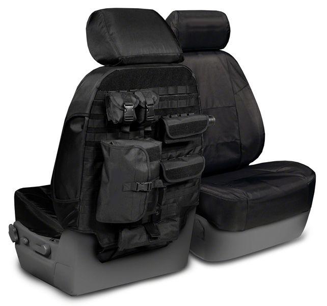 2009 Chevrolet Silverado Pickup Coverking Molle Seat Covers, Coverking Tactical Seat Covers