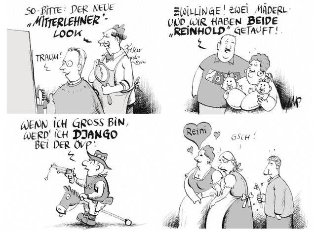 """#Pammesberger ortet bereits einen """"Mitterlehner-Effekt"""" in der ÖVP. (11.9.2014)"""