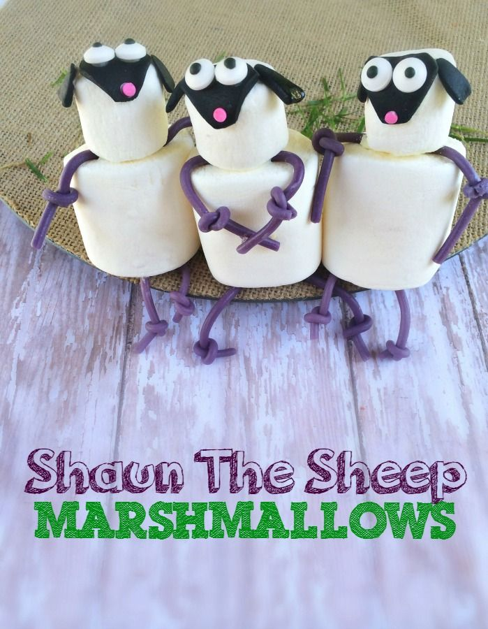 Love this Shaun The Sheep Craft.  Plus it is yummy!