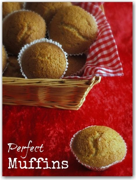 The perfect muffin recipe - deliciously light and so easy to make. Ideal for making with kids or putting in lunch boxes.