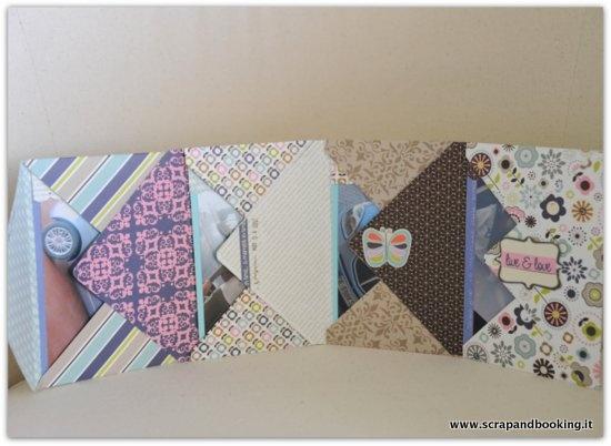 Envelope mini album: tutorial e recensione valigetta creativa | Scrap - lo scrapbooking di Paola