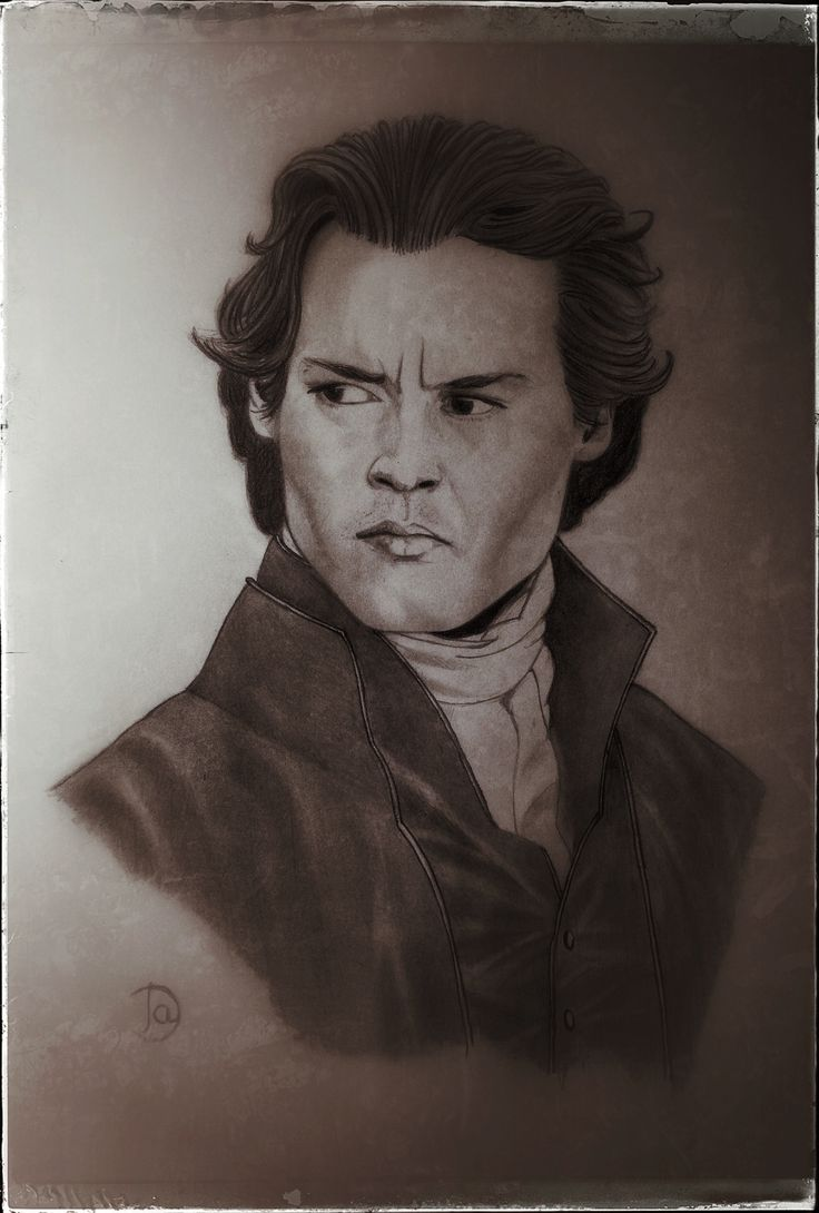 Johnny Deep as Ichabod Crane ( Tim Burton's Sleepy Hollow)