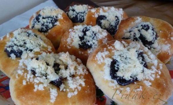 Obrázek z Recept - Moravské koláče - výborné mäkké cesto