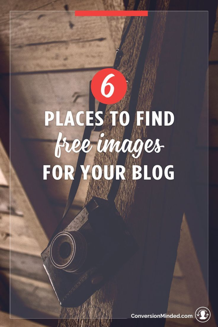 Here are 6 places to find FREE images for your blog to help entrepreneurs and small biz owners build brands that stand out from the crowd.