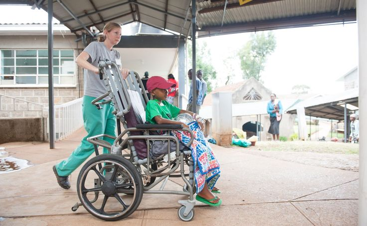 Samaritan's Purse provides wheelchairs to children with injuries or disabilities.