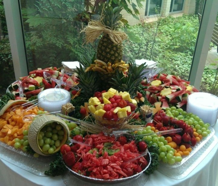 Here S My First Fruit Display For A Wedding