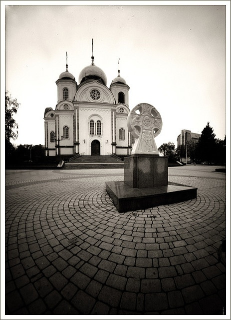 Orthodox Church in Krasnodar, Russia