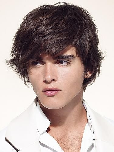 Bangs Hair Styles for Men