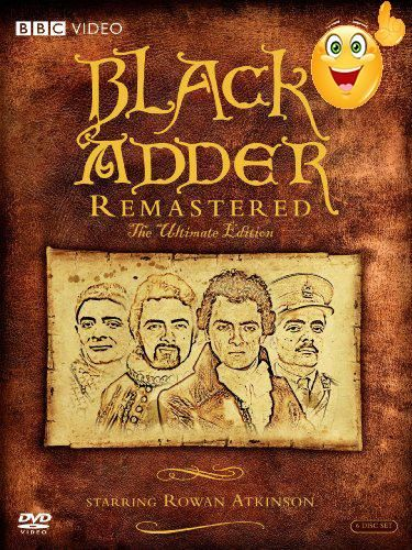 #onsale <p>Blackadder #Remastered: The Ultimate Edition (DVD)</p><p> #Rowan Atkinson is deliciously twisted as the comic villain, Edmund Blackadder, in the enormou...