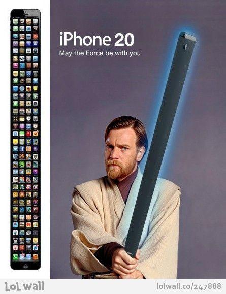 iPHONE 20 We like. StarWars Apple
