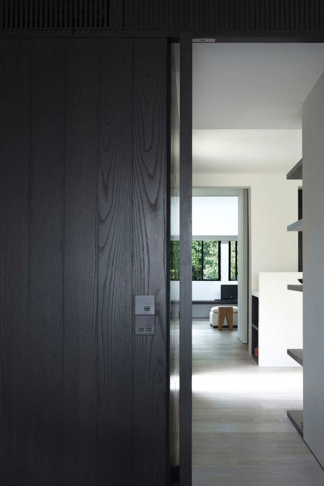 black panelling