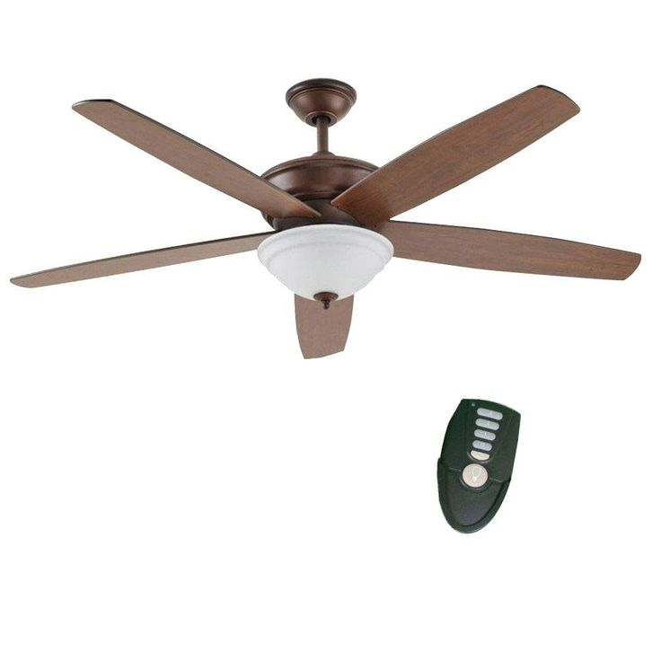 McFarland 60 in. Mediterranean Bronze Ceiling Fan