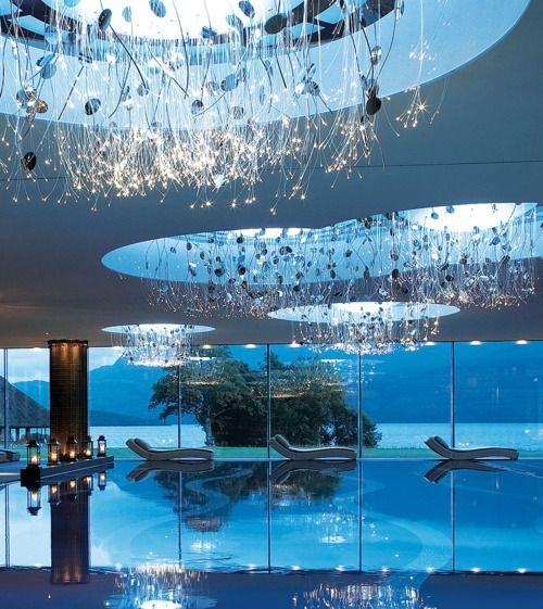 Spa pool in The Europe Hotel, Killarney, Ireland. Magical, just like Ireland.
