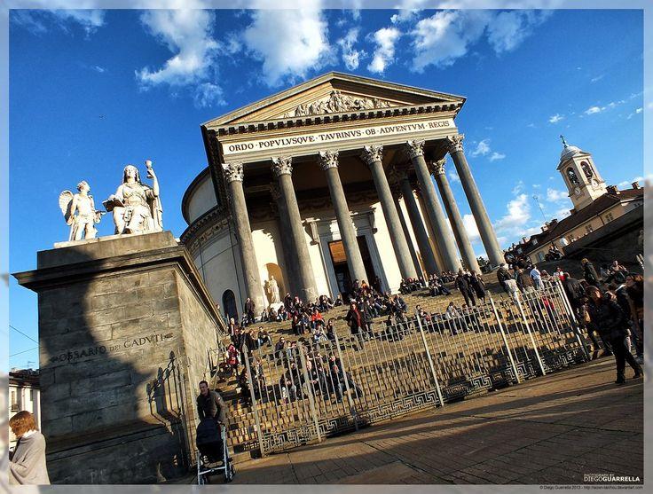 Turin - Chiesa della Gran Madre di Dio II