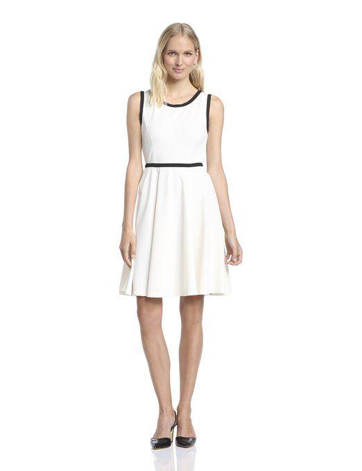 VILA CLOTHES Women's 14020166 ALBENGA Sleeveless Dress White - Weiß (Pristine Pristine) 10 (Brand size: S): Amazon.co.uk: Clothing