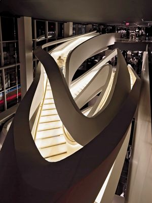17 best images about stairs on pinterest book staircase for Armani store nyc