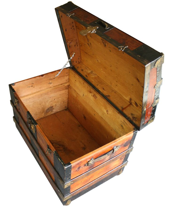 Wooden steamer trunk plans woodworking projects