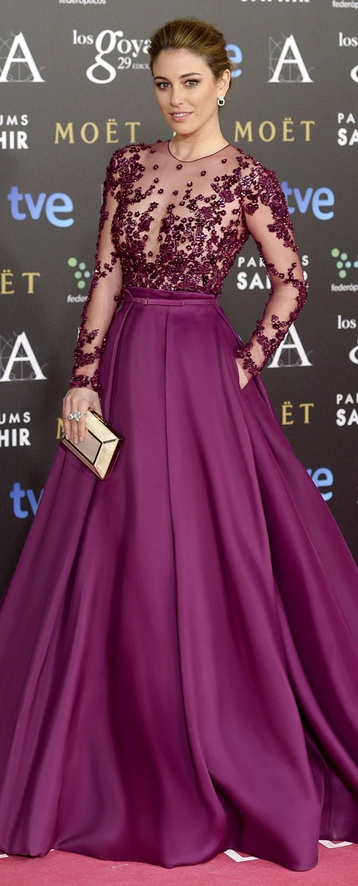Blanca Suarez in Zuhair Murad ~ The Goya Cinema Awards 2015 – Red Carpet