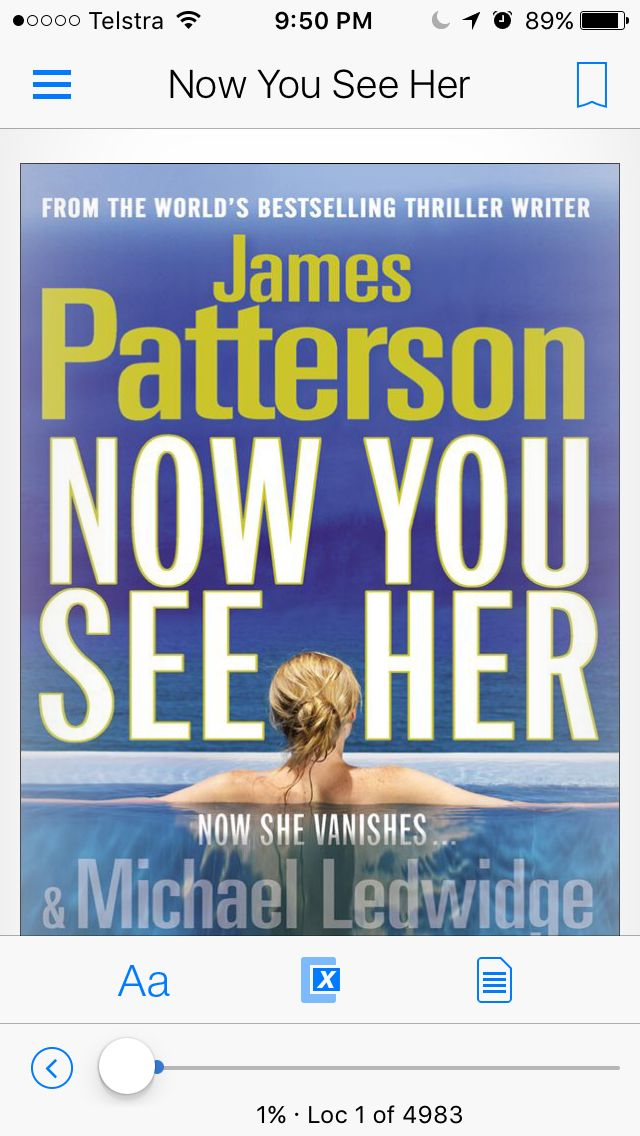 #nowyouseeher, one of my favourite #jamespatterson books