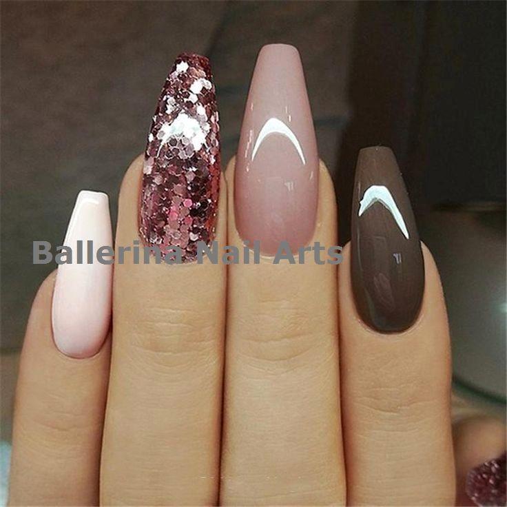 Trending Ballerina nails designs #nailart  – Ballerina Nail art