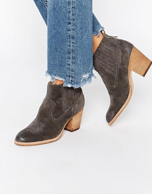 Dolce Vita | Dolce Vita Jones Suede Stack Heeled Ankle Boots