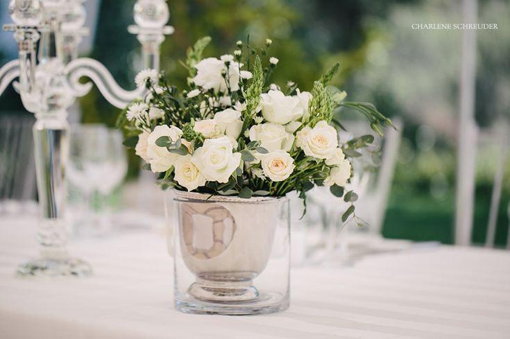 White flowers - wedding decor