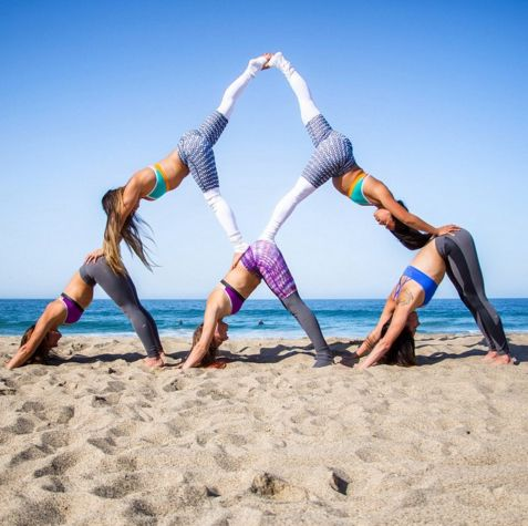 59 best 2 person yoga poses imagesbecca rushing on