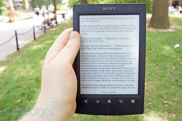 New Sony Ereader review & quick reference to using it