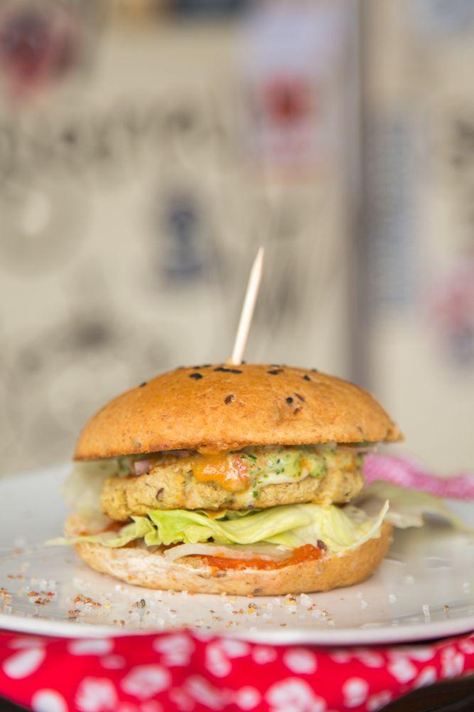 Hamburguesa vegan - ArteCoporal2014